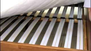 видео Кровати из натурального дерева