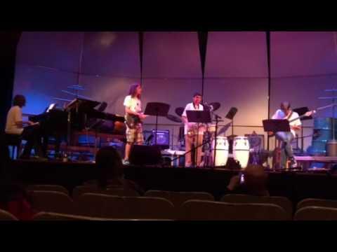 UNCA Jazz Intensive performance June 30, 2017 (Alex guitar solo at about 1:30)