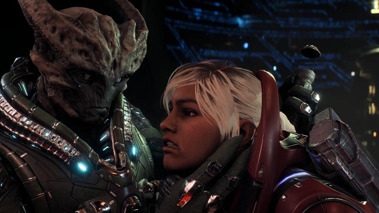 Mass Effect Andromeda Sara Ryder Part 47 Becoming The Hunted Rescue Krogan Salarian Ark