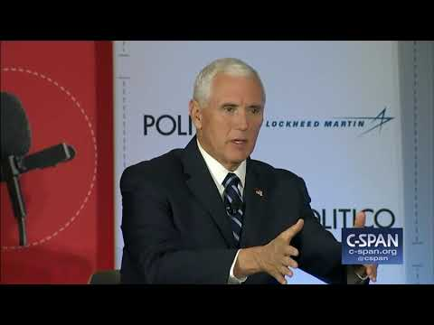 Vice President Pence on Birthright Citizenship (C-SPAN)