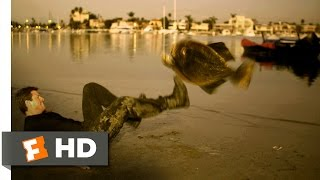 Mega Piranha (5/10) Movie CLIP - Fish Kicker (2010) HD