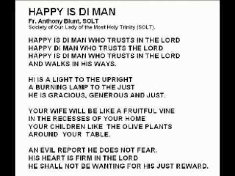 Fr. Tony & The  SOLT Shakers - - Happy is di man.wmv
