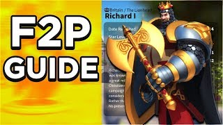 Rise Of Civilizations Free To Play/ Low Spender Guide!