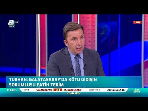 """Evren Turhan: """"Galatasaray'da Kötü Gidişin Sorumlusu Fatih Terim"""" / A Spor / Son Sayfa / 23.11.2019"""