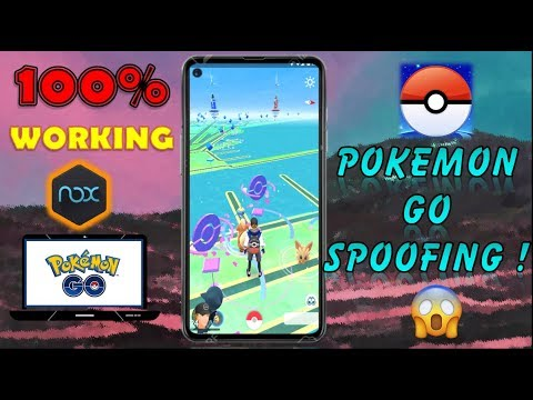 Pokemon GO Hack (PC,laptop)🔥 || How To Spoof Pokemon GO || 👍 100% Working (Teleport , Joystick🕹🎮)