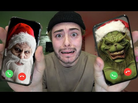 Download CALLING GRINCH AND SANTA AT THE SAME TIME ON FACETIME AT 3 AM!! THEY CAME OVER Mp4 baru