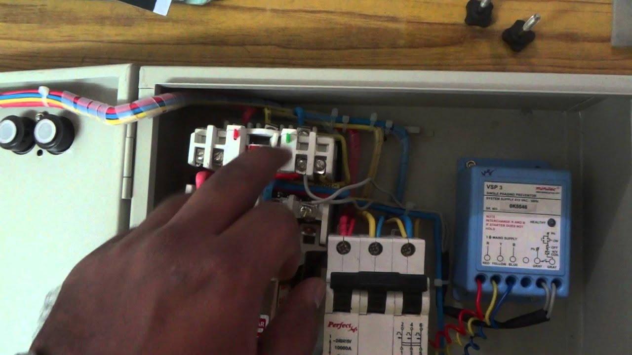 Three Phase Panel Circuit Youtube