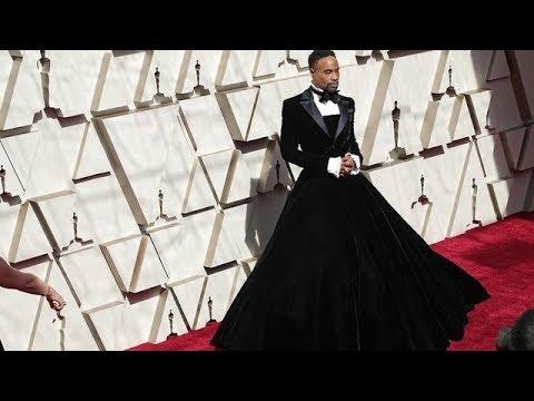 Fans Disgusted By Jada Pinkett Smith Post Praising Black Man Wearing Dress At Oscars