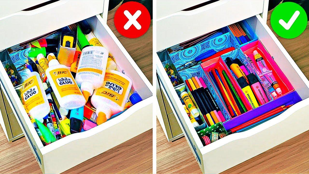 23 Гениальных способа организовать свои вещи