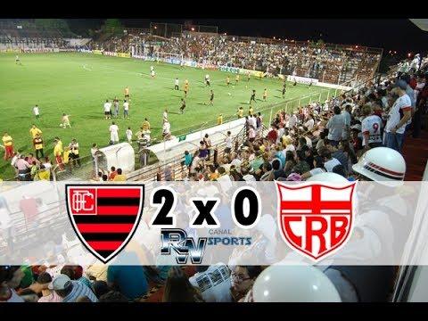 Oeste 2x0 CRB - gols & melhores momentos - Brasileiro Série B 02/06/2017