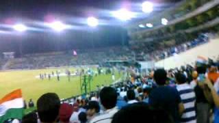 Must Watch India vs Pakistan : 30,000 singing Vande Mataram World Cup 2011 Semi Final Mohali