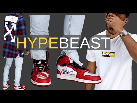 I'm Turning Into a HYPEBEAST.....(MASSIVE GIVEAWAY)