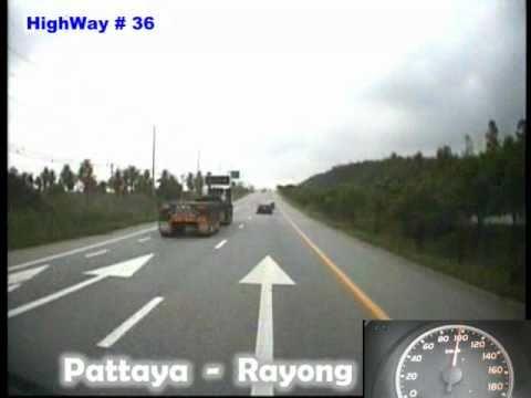 ทางหลวงสาย 36 ช่วง พัทยา-ระยอง 3/3 Pattaya to Rayong