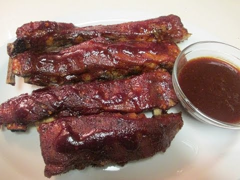 I Heart Recipes Spare Ribs And Homemade Barbecue Sauce How To
