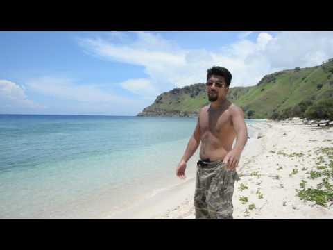 アキーラさん訪問①東ティモール・ディリ・クリストレイ横の綺麗な白砂ビーチ!Next to Cristo Rei,Beach in Dili in East Timor