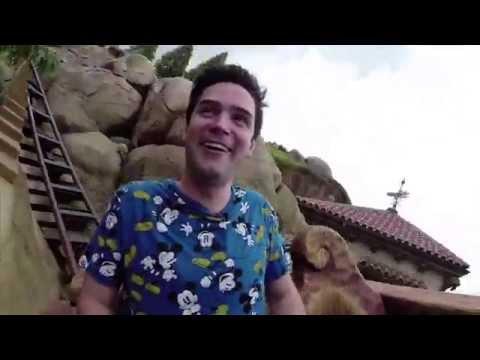 Seven Dwarfs Mine Train ride through - Walt Disney World Magic Kingdom
