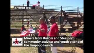 Socialism 2013 - the launch of the South African Workers and Socialist Party