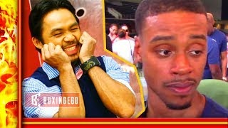 MANNY PACQUIAO WANTS NO SMOKE W/ ERROL SPENCE! LEAVE SPENCE NAME OFF POLL thumbnail
