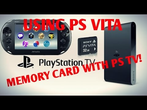 Ps Tv/Vita Hacks 3 60! Using Ps Vita Memory Card With Ps Tv