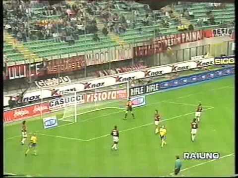 AC Milan vs Bologna 3-0 1998.09.12 - YouTube