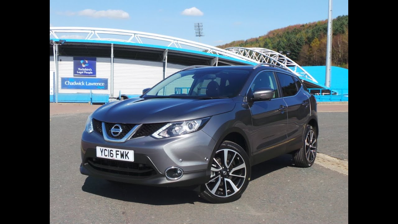 2016 16 Nissan Qashqai 1.5 DCi Tekna 5dr - Delivery Miles ...