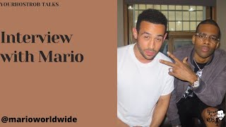 Mario Talks about Being a Fan of Wiley, 'Pain In The New Pleasure' and more