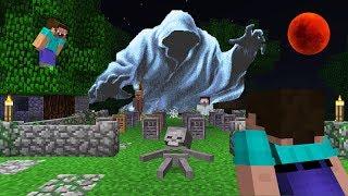 Ночь на острове призраков в Майнкрафт ! Нуб против про и троллинг ловушка ~ Minecraft мультик