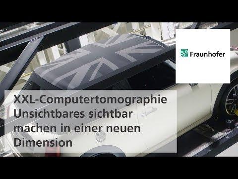 XXL-Computertomographie – Unsichtbares sichtbar machen in einer neuen Dimension
