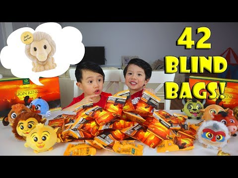 Woolworths Disney The Lion King Ooshies Collectibles #4 | 42 Blind Bags Epic Opening Finale!
