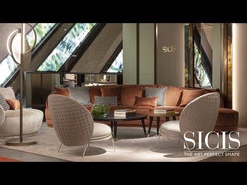 Sicis. Итальянская мебель, плитка, мозаика. ISaloni 2019