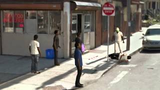 Blind man beaten in Philadelphia: witnesses do nothing as police search for suspect