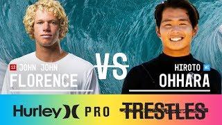 John John Florence vs. Hiroto Ohhara - Round Three, Heat 7 - Hurley Pro at Trestles 2017