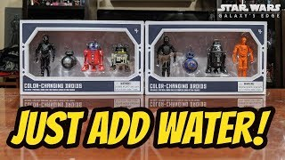 Cool Star Wars Merchandise: Color-Changing Droid Figures from Galaxy's Edge