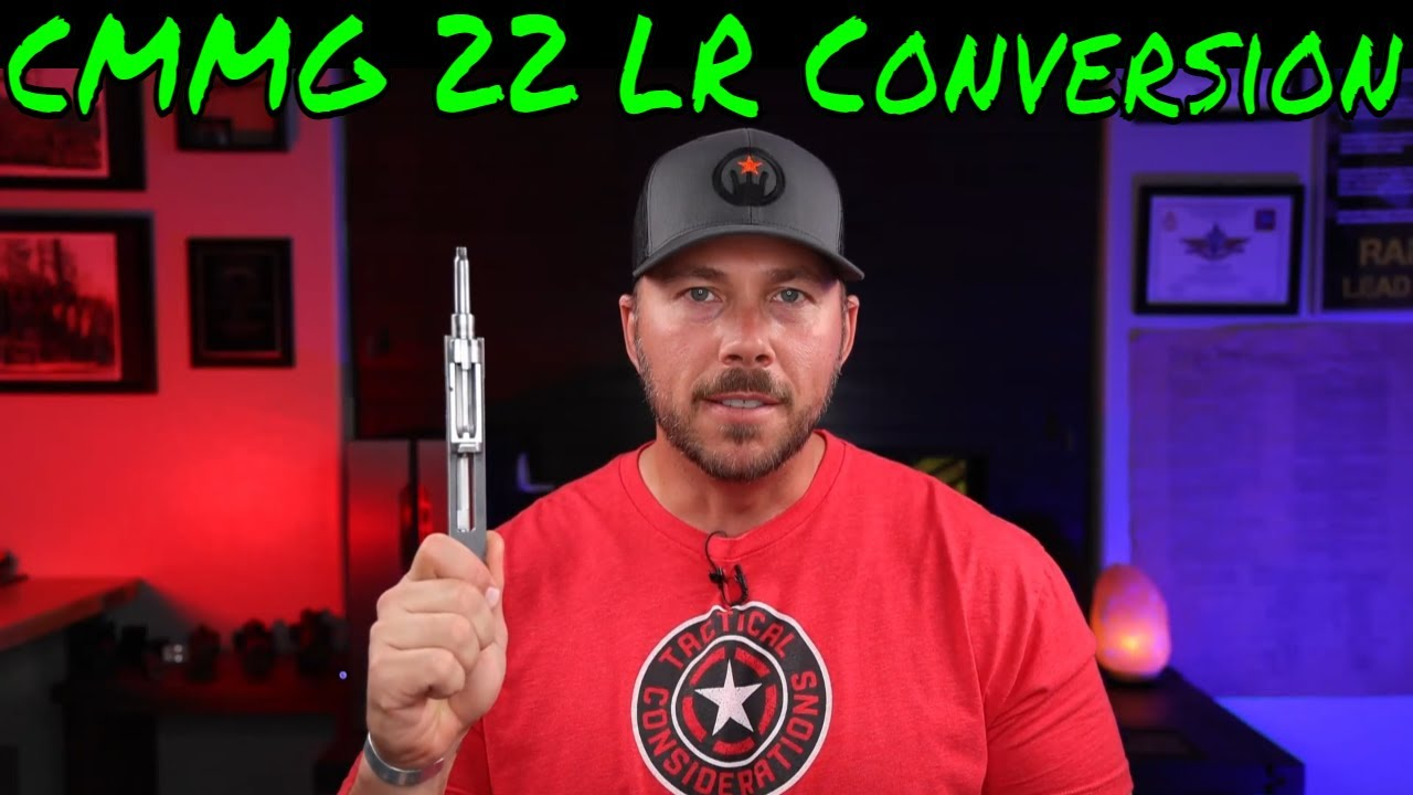 Make Any AR-15 A 22LR With CMMG Conversion Save Money Sling Led