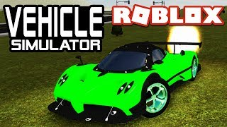 COOLEST SOUNDING CAR in Vehicle Simulator | Roblox