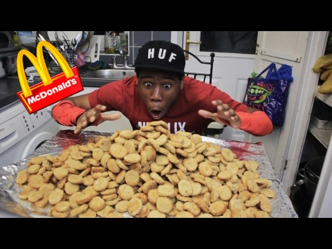 EXTREME 1000 CHICKEN NUGGET IN 10 MINUTES CHALLENGE