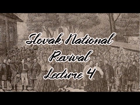 3. year: Slovak National Revival: Political programs of the Slovaks (online lecture)
