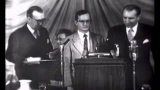 Wally Cox - Mr Peepers - 1952 Peabody Award Acceptance Speech