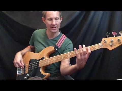 Bass guitar tutorial - Bernard Edwards - Chic - My Forbidden lover - Part 1