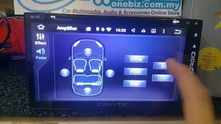 Convex Android Master Player - Full Display &amp Function Setting - Convex103TC- By OneBiz ...