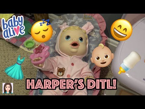 Baby Alive Harper's Day In The Life!