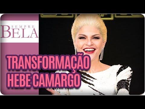 Transformação Em Hebe Camargo | Bastidores De Hebe O Musical - Sempre Bela (10/12/17)