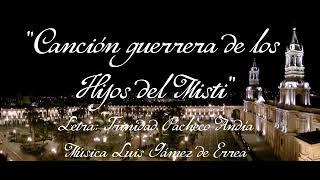 Canción guerrera de los hijos del Misti - Siglo XIX