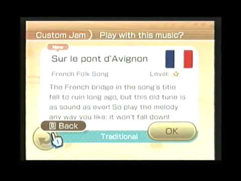 Wii Music - The Music List