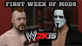 WWE 2K15 PC Mods: First Week of Mods Review