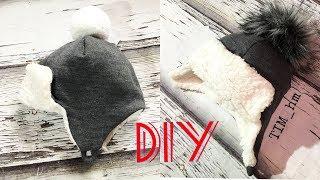Как сшить теплую шапку с закрытыми ушками |TIM_hm|