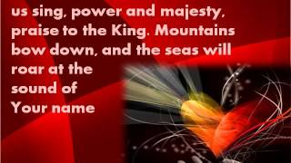 Shout To The Lord - with Lyrics (Oslo Gospel Choir vocals)
