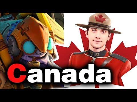 Team CANADA Debut (RTZ Aui_2000 MoonMeander) - WESG 2018 DOTA 2