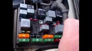 Checking Fuses on Your Car (Under Hood and inside Driver's Compartment)