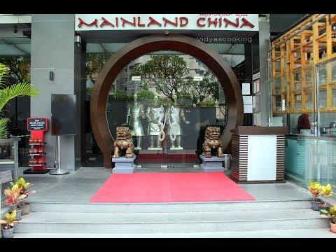 My Parents Tasted New Menu @Mainland China, Orion Mall-Bengaluru